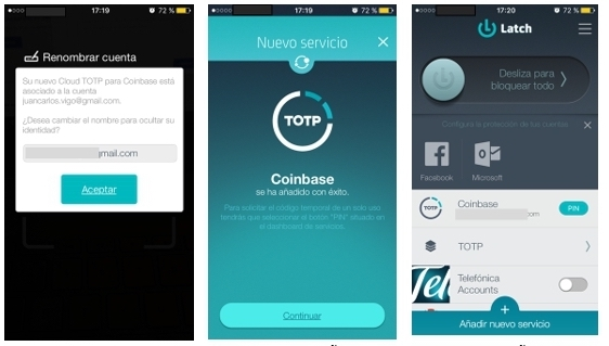 1505485077 818 protege tus bitcoins litecoins y ethereums en coinbase con latch cloud totp - Protege tus BitCoins, LiteCoins y Ethereums en Coinbase con Latch Cloud TOTP