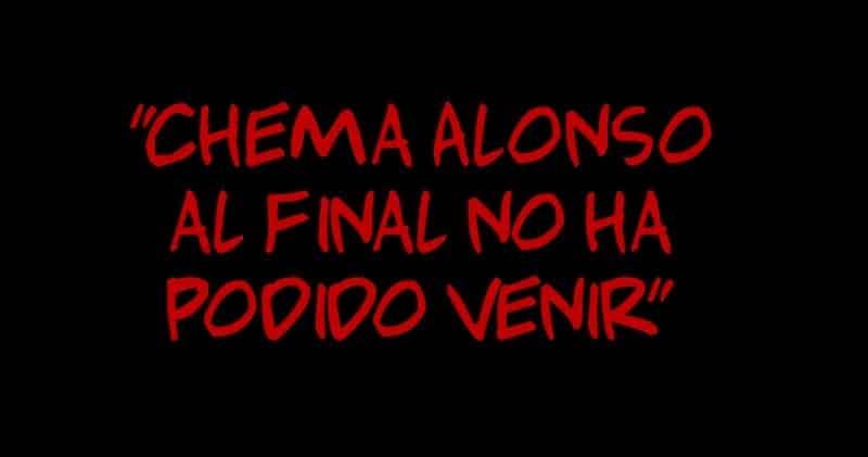 """1505831959 chema alonso al final no ha podido venir - """"Chema Alonso al final no ha podido venir"""""""