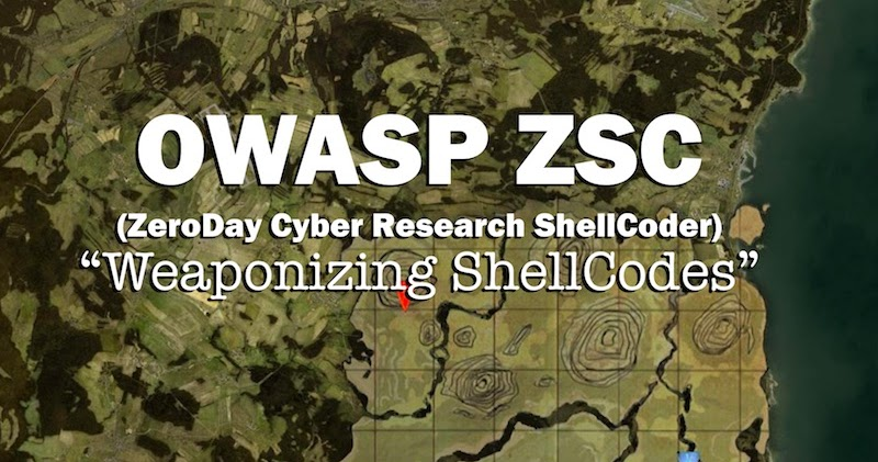 OWASP ZSC (ZeroDay Cyber Research ShellCoder): Weaponizing ShellCodes