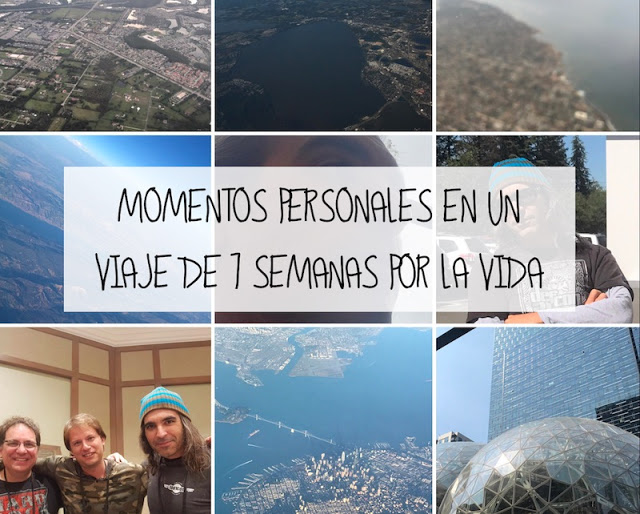 Momentos personales en un viaje de 7 semanas por la vida Telefónica, Microsoft, LUCA, hackers, Google, ElevenPaths, conferencias, Amazon