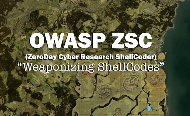 owasp zsc zeroday cyber research shellcoder weaponizing shellcodes - OWASP ZSC (ZeroDay Cyber Research ShellCoder): Weaponizing ShellCodes