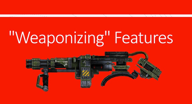 "weaponizing features - ""Weaponizing"" Features"