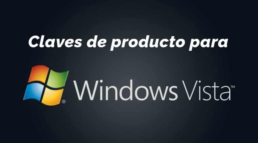 Claves Windows Vista en todas versiónes