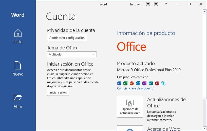 Como activar Office 2019