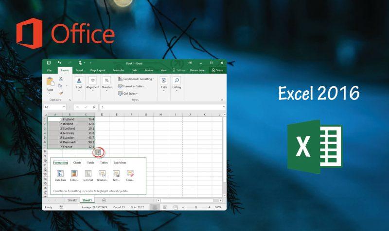 Descargar Excel 2016 32 y 64 Bits ISO en espanol Gratis