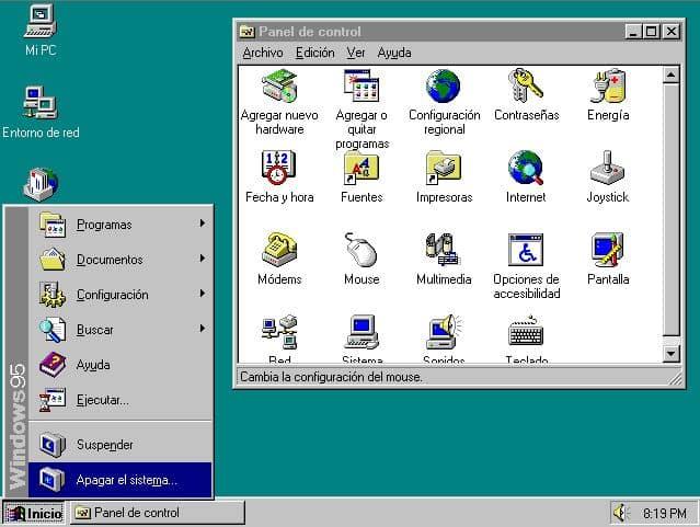 Descargar Windows 95 ISO en español