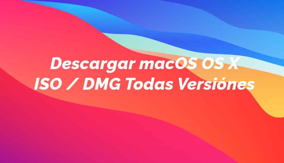 Descargar macOS gratis