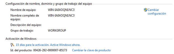 Windows 7 no activado