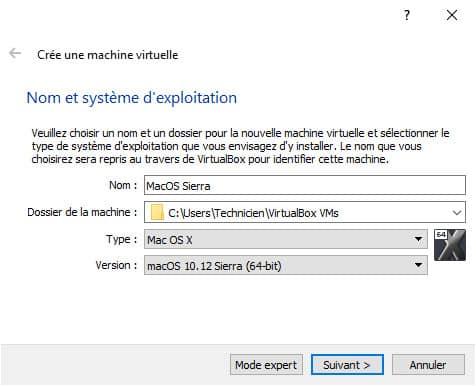 instalar MacOS High Sierra en VirtualBox