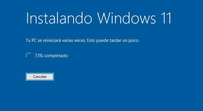 Instalacion de Windows 11 desde Windows 10