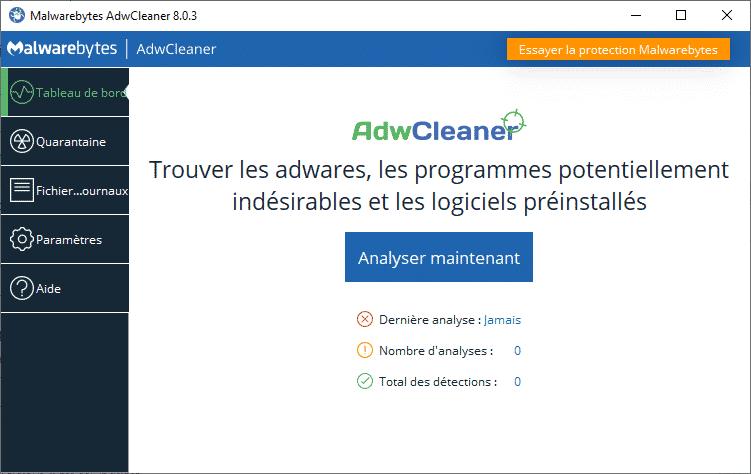 adwclener 2020 - Adwcleaner