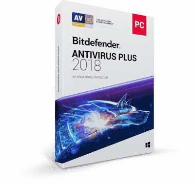 Bitdefender Antivirus Plus 2018