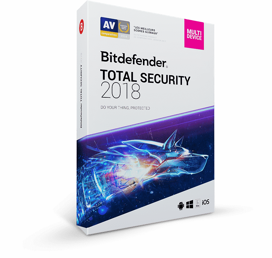 Bitdefender Total Sécurity 2018