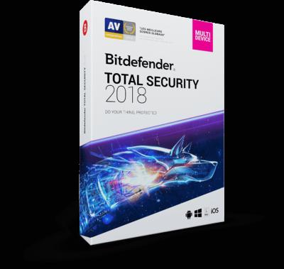 Bitdefender Total Security 2018 - 2017 - 2018