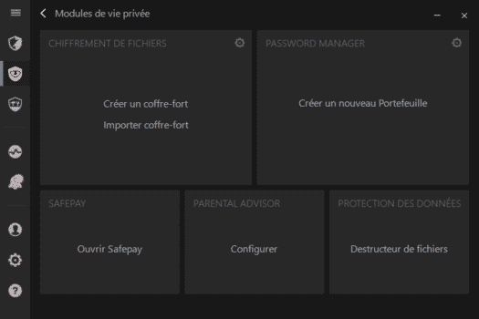 privacy-modules