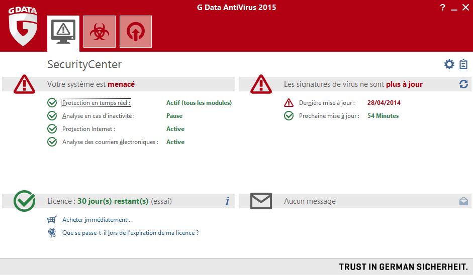 G Data Antivirus 2015 - 2017 - 2018