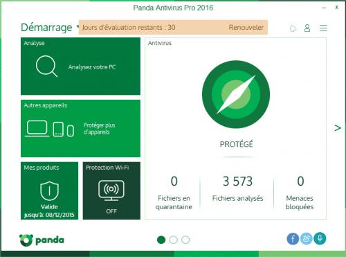 Panda Antivirus Pro 2016 - 2017 - 2018