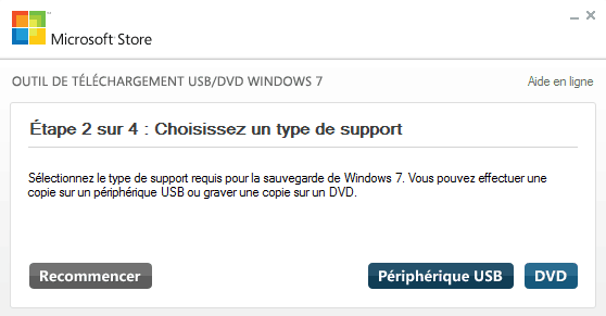Windows 7 USB DVD Download Tool 2 4 - Télécharger et Installer Windows Vista