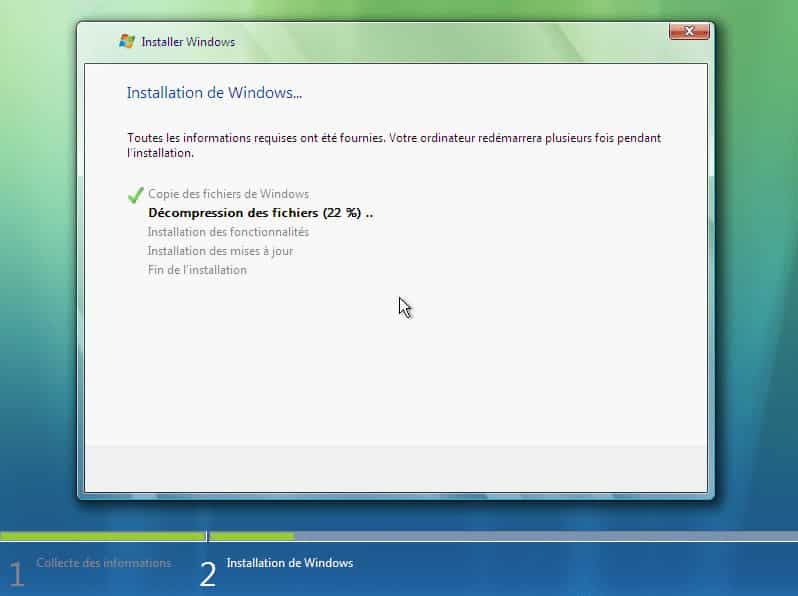 install vista 14 - Télécharger et Installer Windows Vista