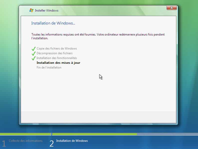 install vista 3 3 - Télécharger et Installer Windows Vista