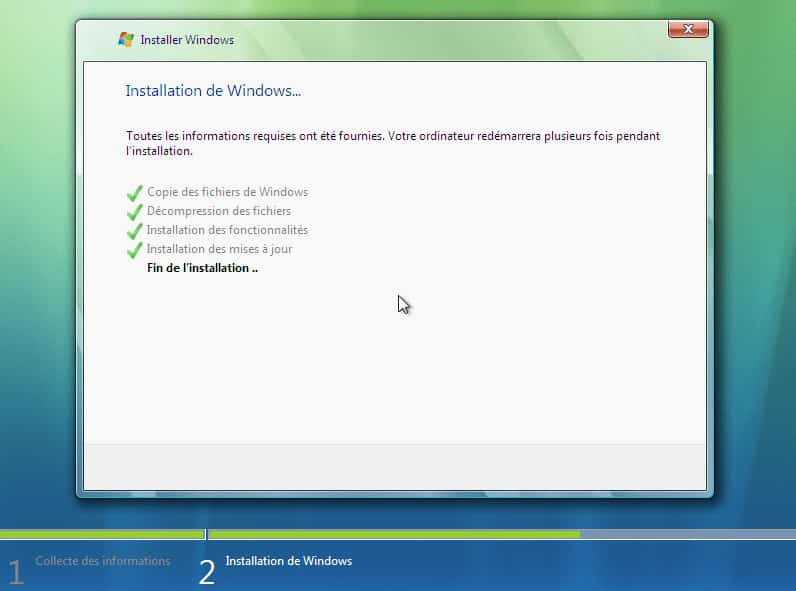 install vista 4 3 - Télécharger et Installer Windows Vista