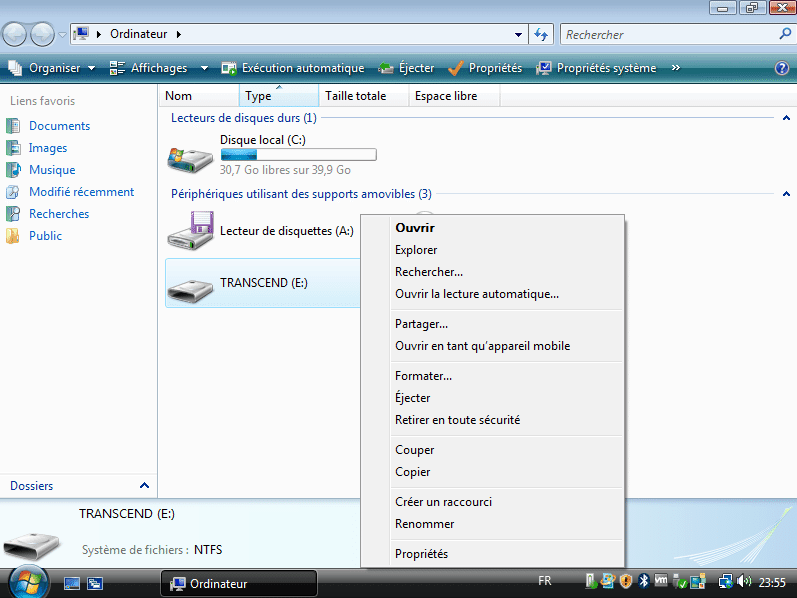 Windows 8 applications de branchement