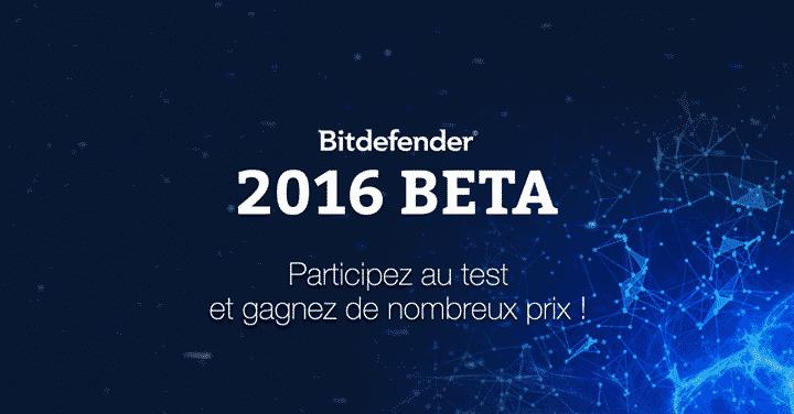 BITDEFENDER BETA 2016