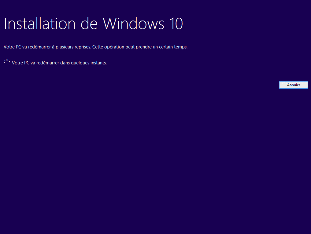 mise a niveau windows 10 94