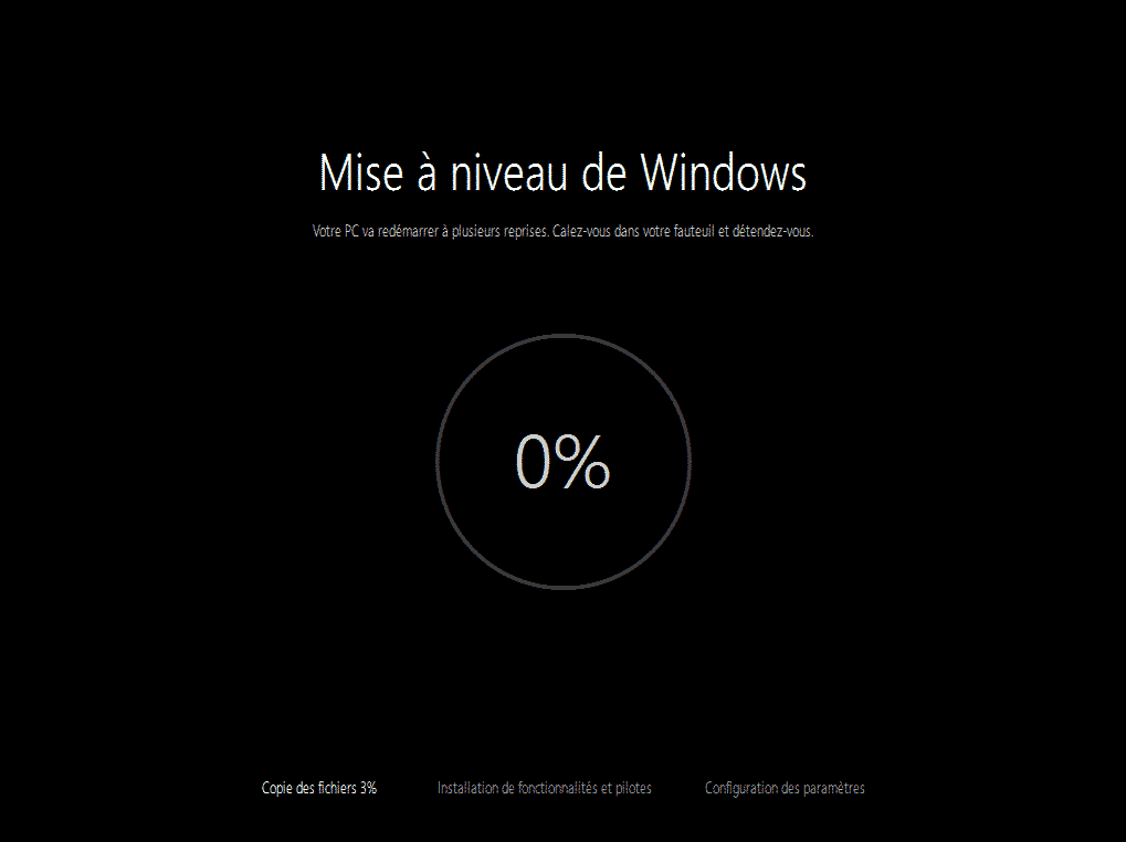 mise a niveau windows 10 95