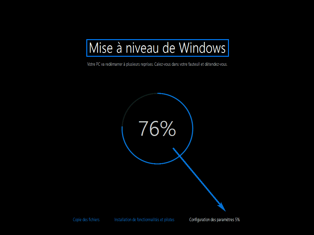 mise a niveau windows 10 98