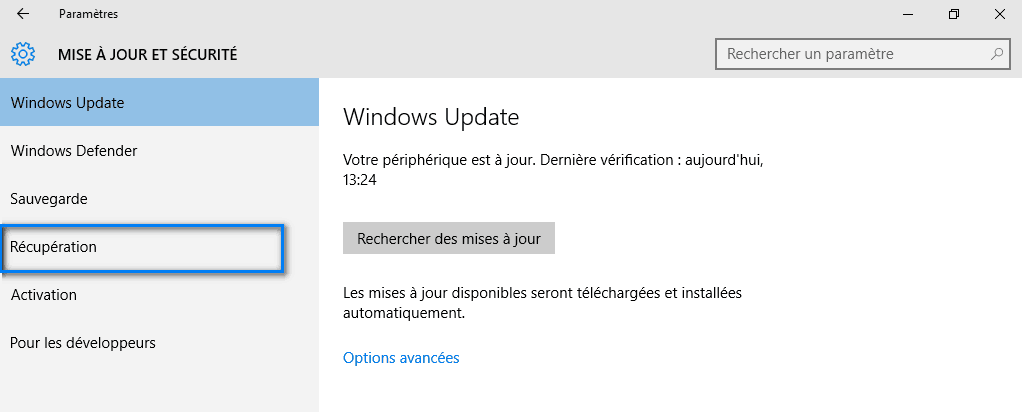 mode sans échec windows 10 2