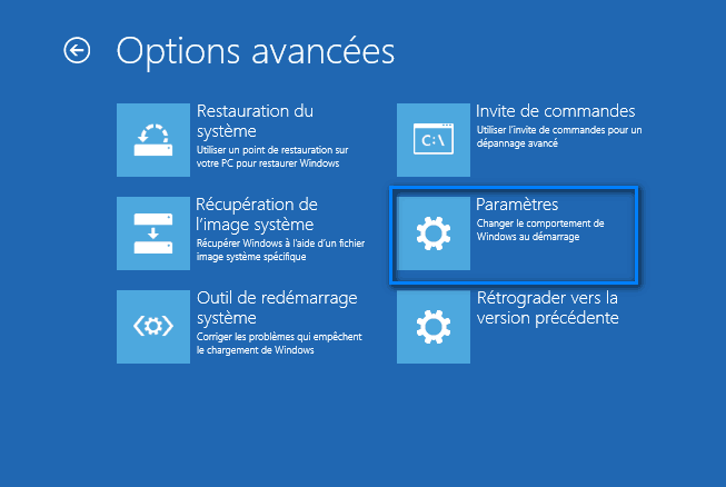 mode sans échec windows 10 6