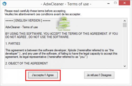 Tutoriel AdwCleaner