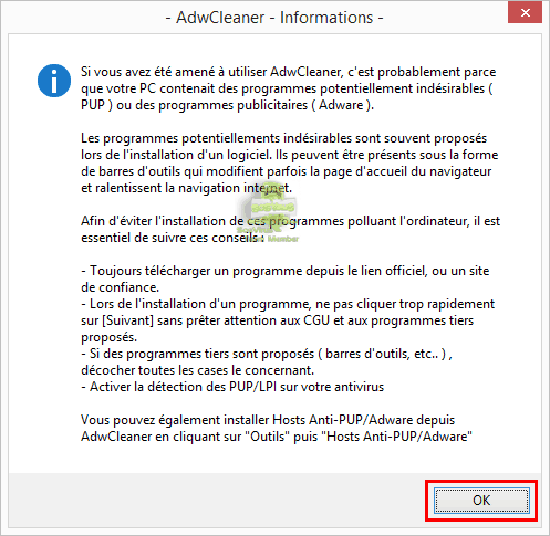Tutoriel AdwCleaner (Option Nettoyer) - 2017 - 2018