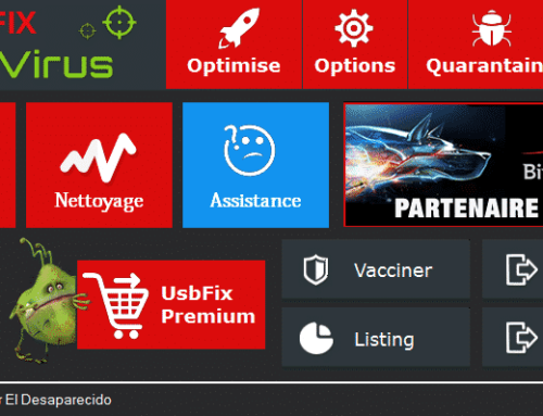 Tutoriel UsbFix 2016 – Nettoyer les clés USB