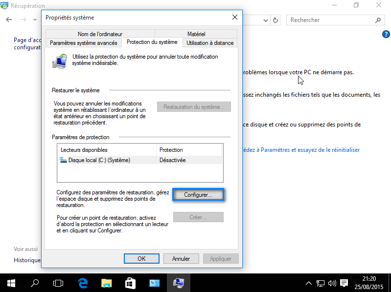 Restauration De Windows Virus