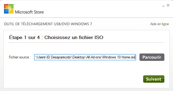 cle usb bootable windows 10
