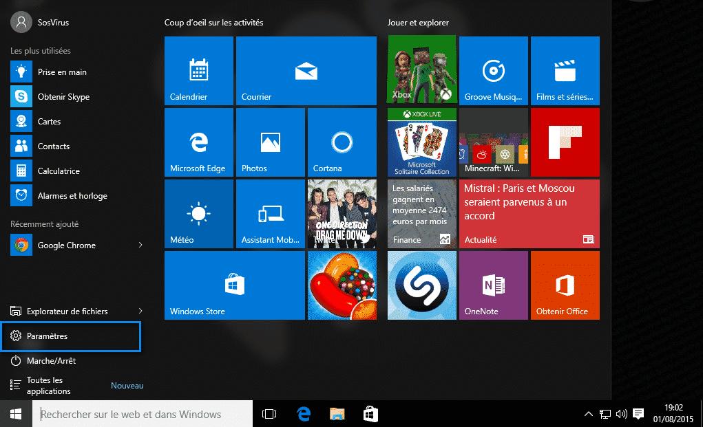 Modifier le navigateur par défaut Windows 10  Modifier le navigateur par défaut Windows 10