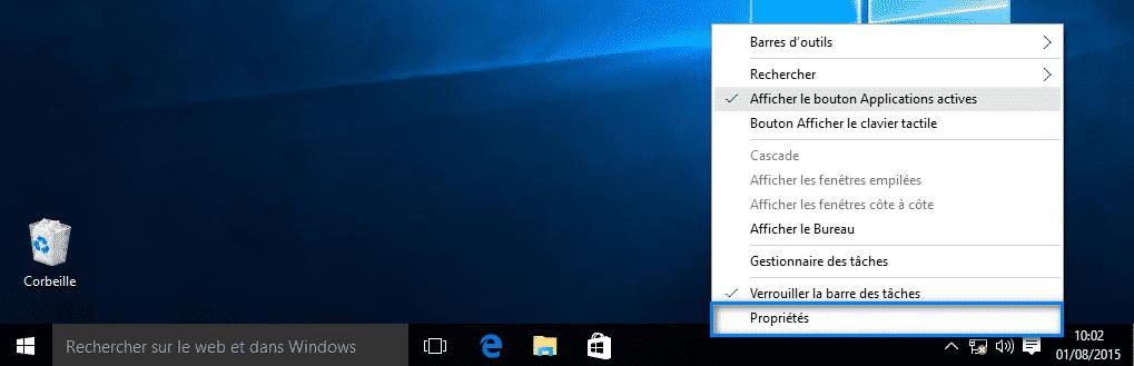 Personnaliser la barre des taches Windows 10  Personnaliser la barre des taches Windows 10  Personnaliser la barre des taches Windows 10  Personnaliser la barre des taches Windows 10