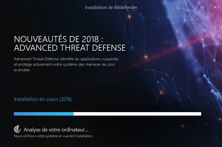Bitdefender 2018 installation nouveautes