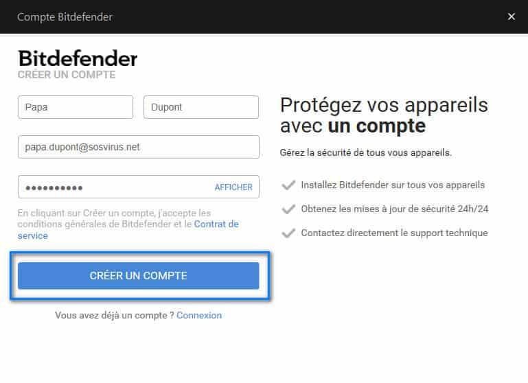 tutoriel bitdefender 2018 meilleur antivirus sosvirus. Black Bedroom Furniture Sets. Home Design Ideas