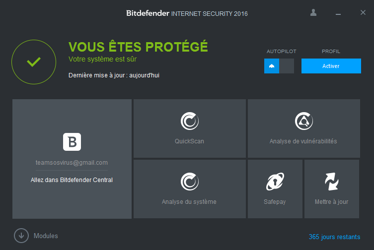 bitdefender interface