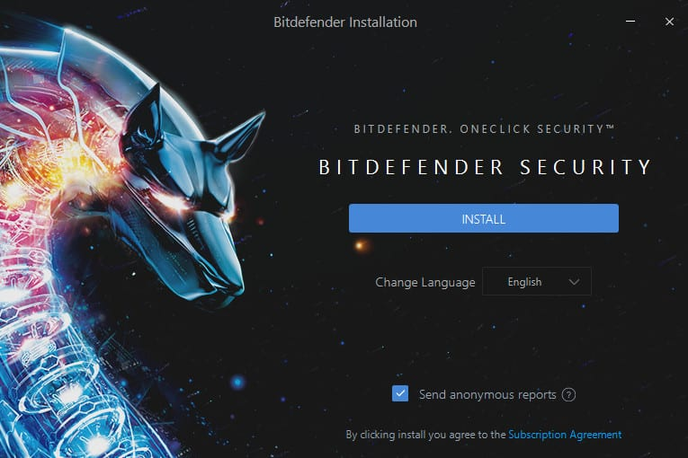 tutoriel Bitdefender 2018 installation