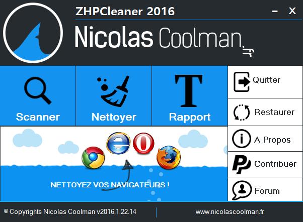 ZhpCleaner sos virus - Tutoriel ZHPCleaner