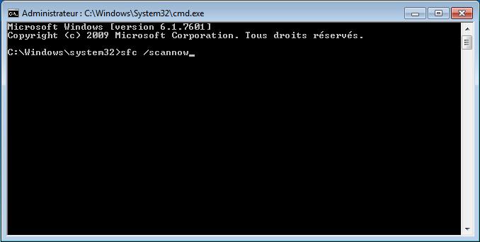 inviteseven - Comment réparer les fichiers système manquants ou endommagés sous Windows Seven ?