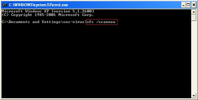 tuto43655d - Comment réparer les fichiers système manquants ou endommagés sous Windows XP ?