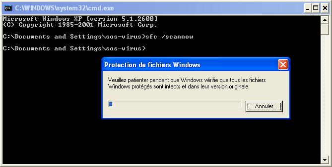 tuto584256 - Comment réparer les fichiers système manquants ou endommagés sous Windows XP ?