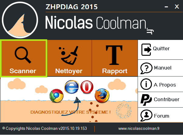 Tutoriel ZHPDiag par Nicolas Coolman - 2017 - 2018