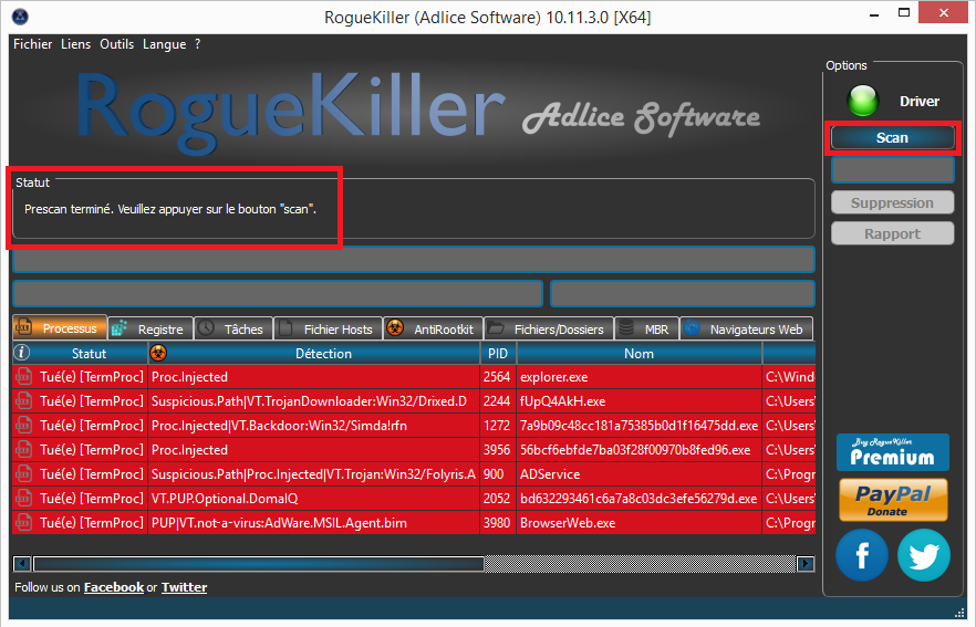 "Tutoriel RogueKiller de Tigzy Option ""Scan""  Tutoriel RogueKiller de Tigzy Option ""Scan""  Tutoriel RogueKiller de Tigzy Option ""Scan""  Tutoriel RogueKiller de Tigzy Option ""Scan""  Tutoriel RogueKiller de Tigzy Option ""Scan""  Tutoriel RogueKiller de Tigzy Option ""Scan"""