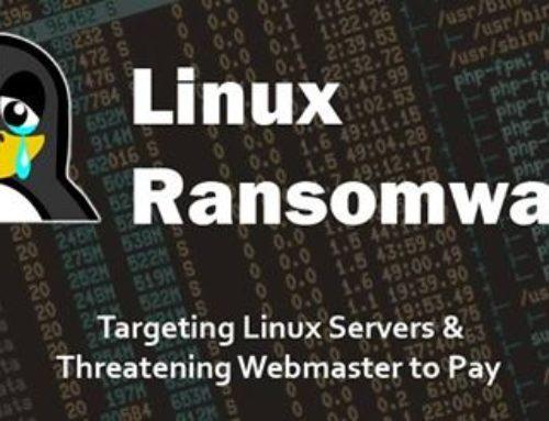 Un futur ransomware visant Linux pourrait dévaster Internet